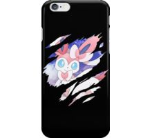 pokemon eevee sylveon anime manga shirt iPhone Case/Skin