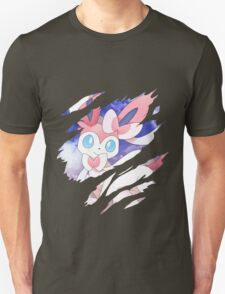 pokemon eevee sylveon anime manga shirt T-Shirt