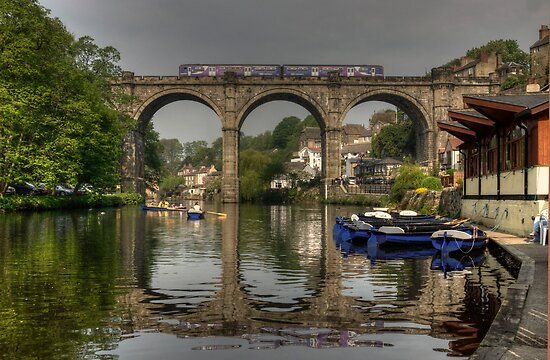 Knaresborough viaduct by Rob Hawkins