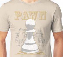 Chess Mate: White Pawn Unisex T-Shirt