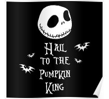 Nightmare Before Christmas - Hail to the Pumpkin King v3.0 Poster