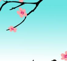 Spring Cat Sticker