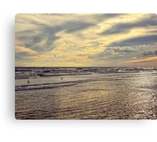 Colors of Nature Beach Canvas Print
