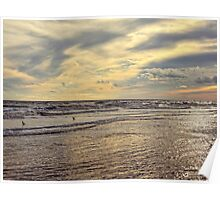 Colors of Nature Beach Poster