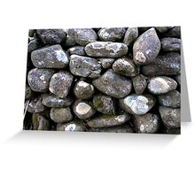 The Dry Stone Wall Greeting Card