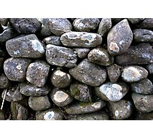 The Dry Stone Wall Photographic Print