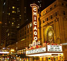 Chicago Theater by sarafahling