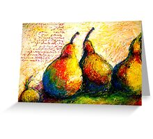 Pear Journal Page 5 Greeting Card