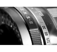 Vintage Camea Lens Photographic Print