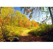 Connecticut Autumn View, New England Photographic Print
