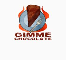 Gimme Chocolate Womens Fitted T-Shirt