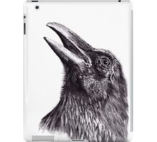Crow Sketch iPad Case/Skin