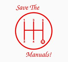 Save The Manuals! 5 Gear No. 3 Unisex T-Shirt