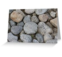Solidified Minerals Greeting Card
