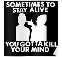 Migraine White Poster