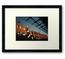 Urban: Colours of the morning Framed Print