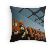 Urban: Colours of the morning Throw Pillow