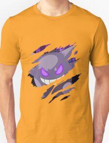 pokemon gengar anime manga shirt T-Shirt