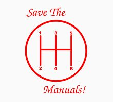 Save The Manuals! 5 Gear No. 5 Unisex T-Shirt