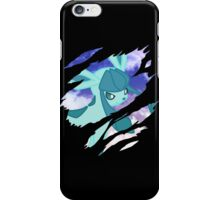 pokemon glaceon anime manga shirt iPhone Case/Skin