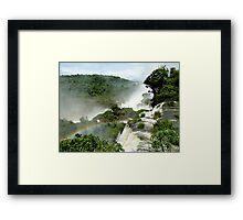 Rainbow over Iguazu Framed Print