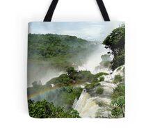 Rainbow over Iguazu Tote Bag