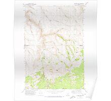 USGS Topo Map Oregon Salmon Fork 281370 1970 24000 Poster