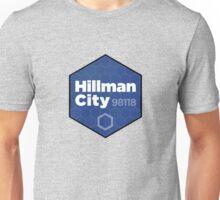 Hillman City Seattle, 98118 Unisex T-Shirt