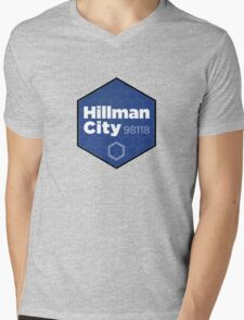 Hillman City Seattle, 98118 Mens V-Neck T-Shirt