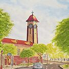 Sandgate Town Hall by Werner Langer