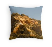 """Coloured Sands""  - The Pinnacles Throw Pillow"