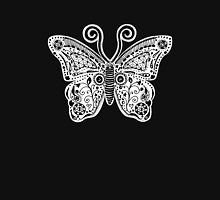 Butterfly Doodle Womens Fitted T-Shirt
