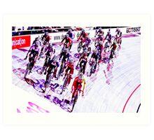 Women s Points Race World Track Championships 2011 Art Print