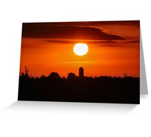 Pretty Start to the day Greeting Card