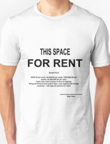 Small Print T-Shirt
