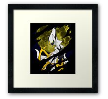 pokemon arceus anime manga shirt Framed Print