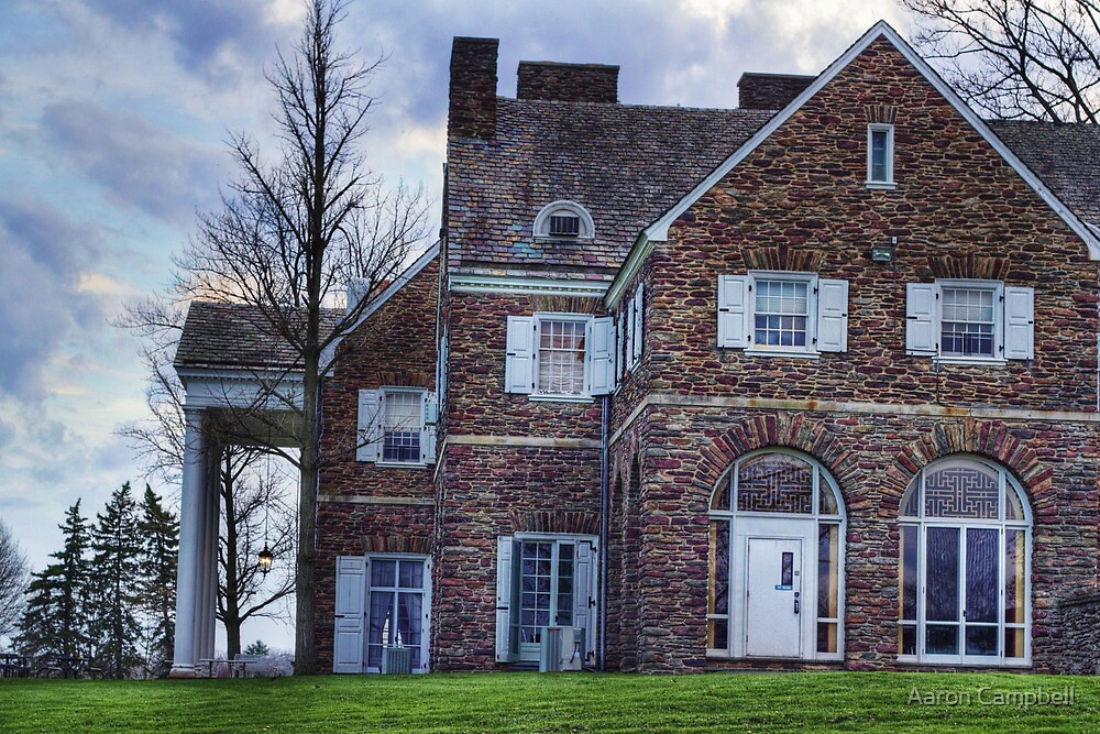 Hayfield House (side view) by Aaron Campbell