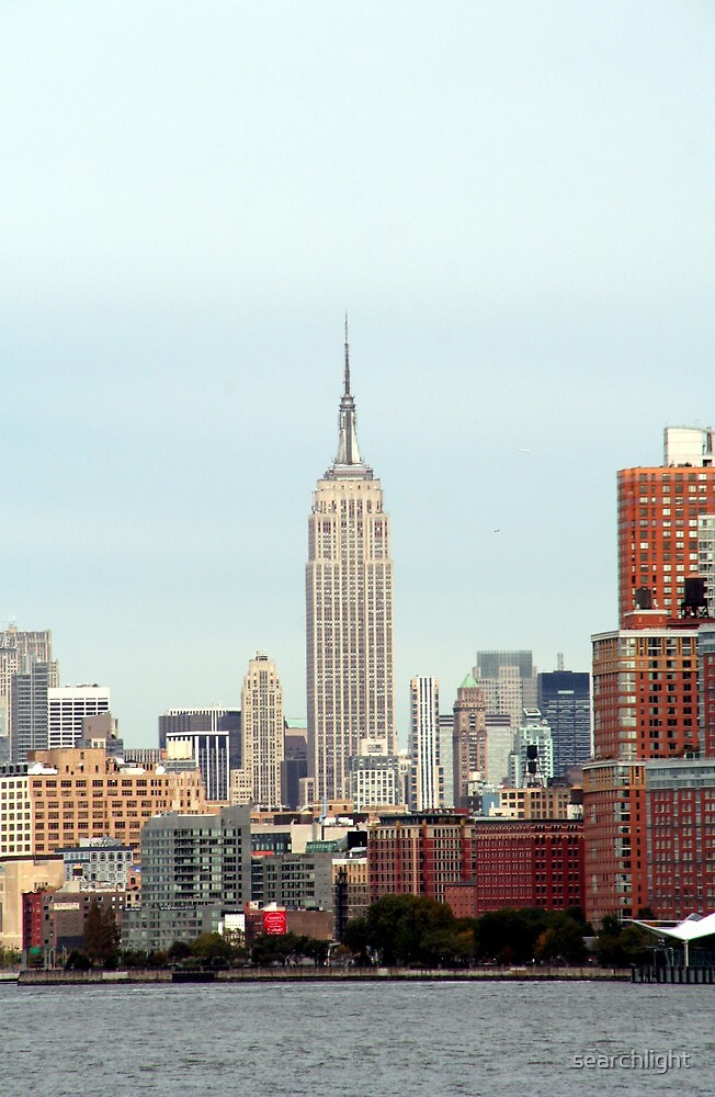 Empire State Building - New York, NY by searchlight