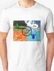 Earth,Air,Fire,Water T-Shirt