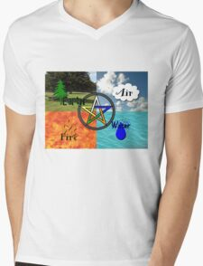 Earth,Air,Fire,Water T-Shirt