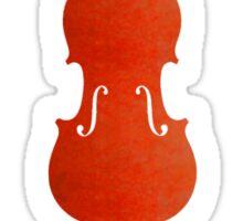 Must Play Violin Sticker