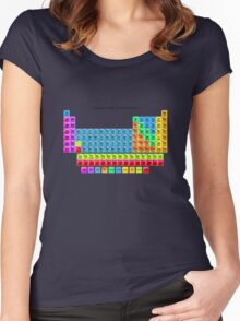 Periodic Table Women's Fitted Scoop T-Shirt