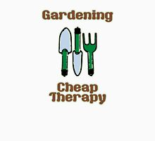 Gardening = Cheap Therapy Mens V-Neck T-Shirt