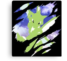 pokemon scyther anime manga shirt Canvas Print
