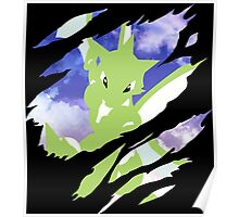 pokemon scyther anime manga shirt Poster