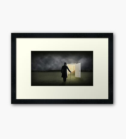 Escape From Reality Framed Print