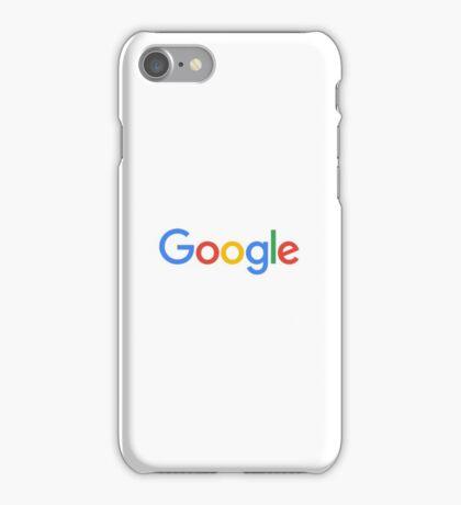 Google Simplistic iPhone Case/Skin