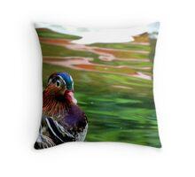 Duck duet Throw Pillow