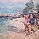 Fishing Buddies by Dianne  Ilka