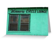 Winner's Circle Lounge Greeting Card